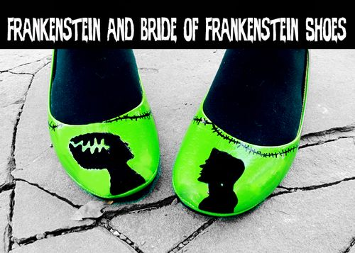 Frankenstein shoes 1
